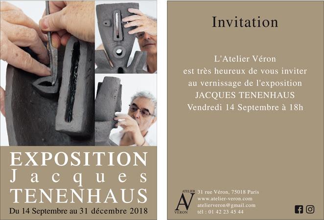 exposition atelier Véron Paris 18